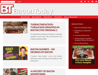 bacontoday.com screenshot