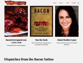 baconunwrapped.com screenshot