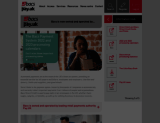 bacs.co.uk screenshot