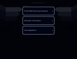 bacteriologie.net screenshot