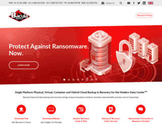 baculasystems.com screenshot