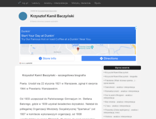 baczynski.klp.pl screenshot