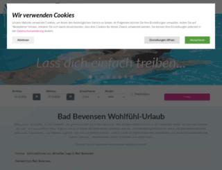 bad-bevensen-tourismus.de screenshot