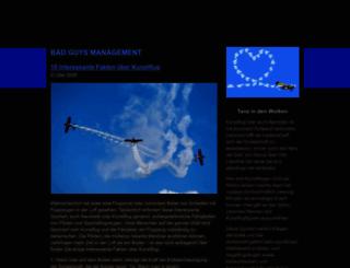 bad-guys-management.de screenshot