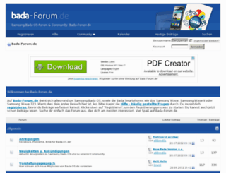 bada-forum.de screenshot