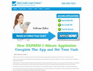 badcreditloancenter.com screenshot
