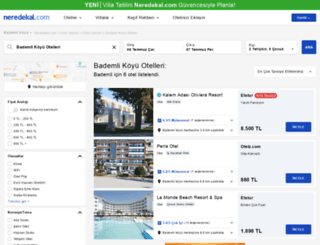 bademli-koyu.neredekal.com screenshot