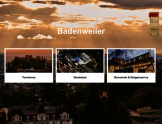 badenweiler.de screenshot