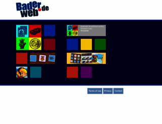 baderweb.de screenshot