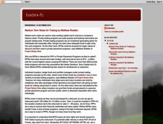 badex-fc.blogspot.com screenshot
