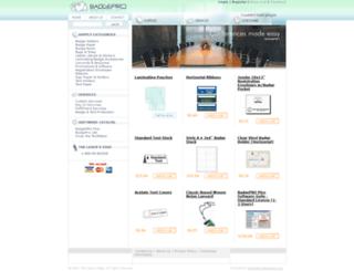 badgepro.com screenshot