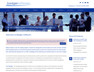 badger.co.uk screenshot