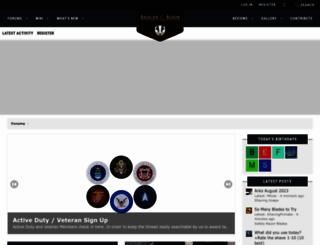 badgerandblade.com screenshot