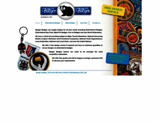 badgerbadges.co.uk screenshot