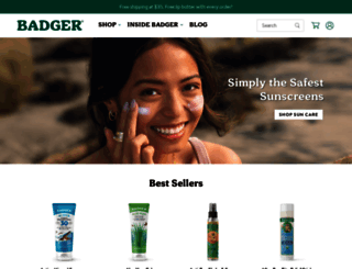 badgerbalm.com screenshot