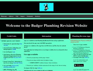 badgerrevisionsoftware.co.uk screenshot