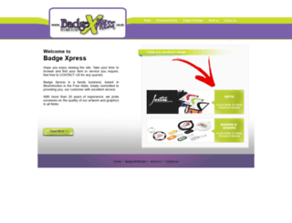 badgexpress.co.za screenshot