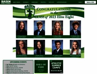 badinhs.org screenshot