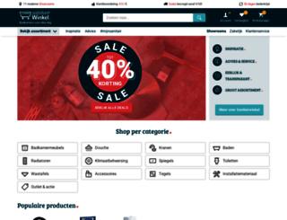 badkamerconcurrent.nl screenshot