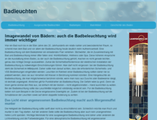 badleuchten.net screenshot