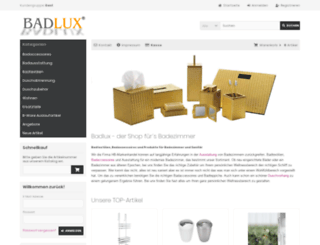 badlux.de screenshot