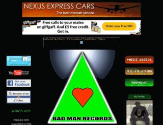 badmanrecords.co.uk screenshot