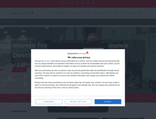 badmintonengland.co.uk screenshot