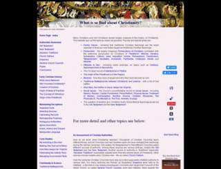 badnewsaboutchristianity.com screenshot