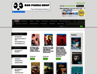 badpandashop.com screenshot