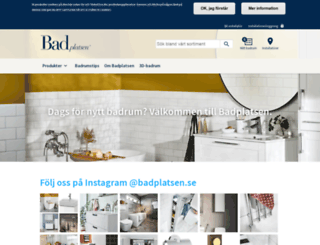 badplatsen.se screenshot
