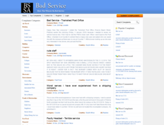 badservicesa.com screenshot