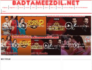 badtameezdil.net screenshot