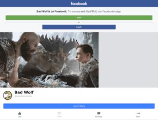 badwolf.pt screenshot