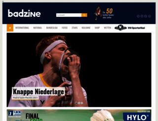 badzine.de screenshot