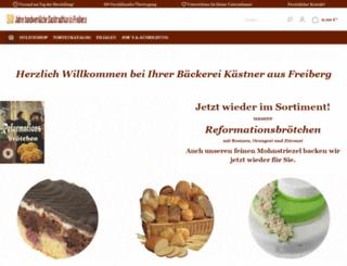 baeckereikaestner.de screenshot