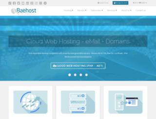 baehost.com.ar screenshot