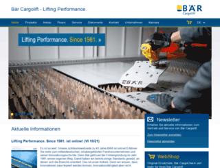 baer-cargolift.de screenshot