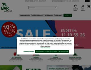 baer-schuhe.de screenshot