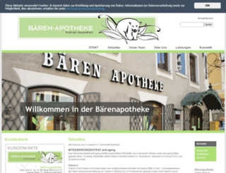 baeren-apotheke.at screenshot