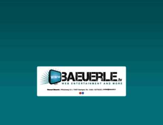 baeuerle.tv screenshot