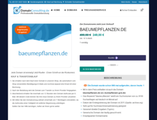 baeumepflanzen.de screenshot