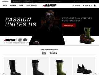 baffin.com screenshot
