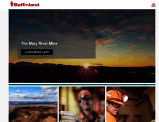 baffinland.com screenshot