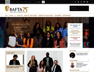 bafta.org screenshot
