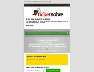 bafta.ticketsolve.com screenshot