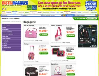 bagagerie.grossiste-des-marques.com screenshot