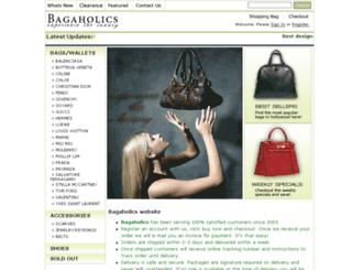 bagaholicsonlinebag.se screenshot