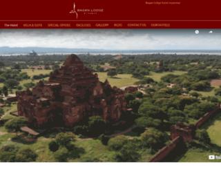 bagan-lodge.com screenshot