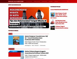 bagasajiharvian.blogspot.com screenshot