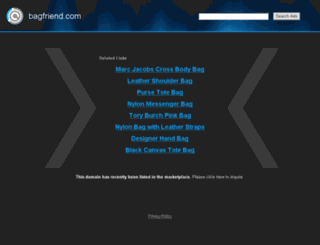 bagfriend.com screenshot